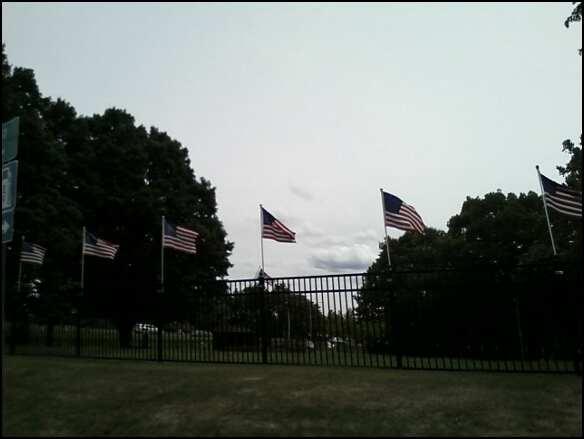 National Iwo Jima Memorial. Street view. Photo by Katelyn Avery.