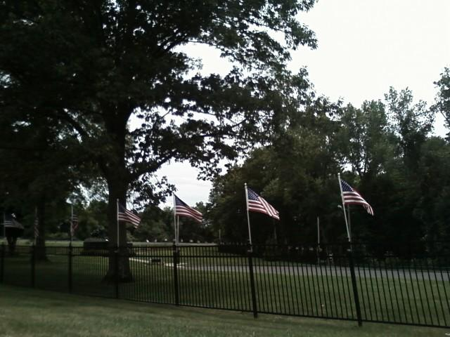 National Iwo Jima Memorial. Street view. Photo by Katelyn Avery.